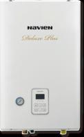 Котел газовый настенный двухконтурный NAVIEN DELUXE PLUS 13K COAXIAL, 13 кВт, закрытая камера, коаксиальное дымоудаление купить в интернет-магазине Азбука Сантехники