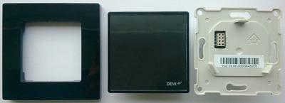 Терморегулятор Devi Devireg Smart Wi-Fi black купить в интернет-магазине Азбука Сантехники