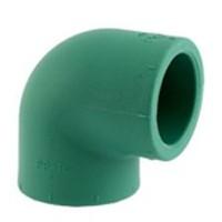 Уголок Baenninger 90° Ø 25 мм полипропиленовый купить в интернет-магазине Азбука Сантехники