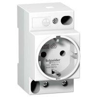 Schneider Electric iPC Розетка на Din-рейку 2П+T 16A 250В купить в интернет-магазине Азбука Сантехники