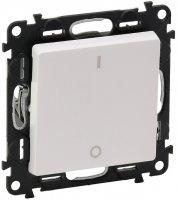 Legrand Valena Life Белый Выключатель 1-клавишный 2-полюсный 16A купить в интернет-магазине Азбука Сантехники
