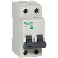 Schneider Electric Easy 9 Автомат 2P 6A (C) 4,5kA купить в интернет-магазине Азбука Сантехники