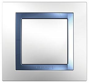 Schneider Electric Unica Голубой лед Вставка декоративная купить в интернет-магазине Азбука Сантехники
