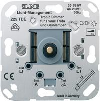 Jung Механизм Светорегулятор поворотно-нажимной Tronic для л/н г/л эл.трансформаторов 20-525 Вт купить в интернет-магазине Азбука Сантехники