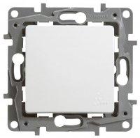 Legrand Etika Белый Выключатель/Переключатель 10A автоматические зажимы IP44 купить в интернет-магазине Азбука Сантехники