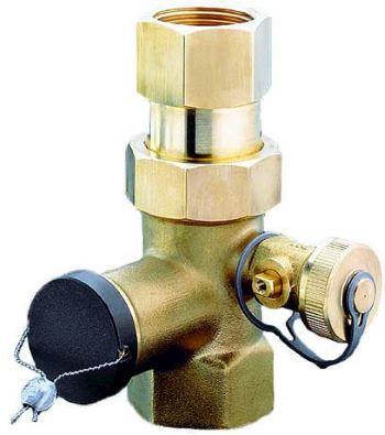 Oventrop Expa-Con колпачковый клапан DN 25, резьба со стороны бака Rp 1 купить в интернет-магазине Азбука Сантехники