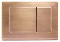 Кнопка смыва TECE Planus 9240365 состаренная медь купить в интернет-магазине Азбука Сантехники