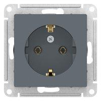 Schneider Electric AtlasDesign Грифель Розетка с/з 16A механизм купить в интернет-магазине Азбука Сантехники