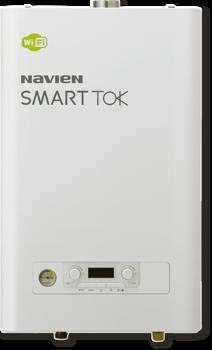Котел газовый настенный двухконтурный NAVIEN SMART TOK 20K COAXIAL, закрытая камера, коаксиальное дымоудаление купить в интернет-магазине Азбука Сантехники