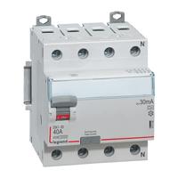 Legrand DX3-ID УЗО 4P 80A тип AC 30mA купить в интернет-магазине Азбука Сантехники