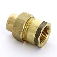 """Сгон Viega Ø 15 мм × 1/2"""" с внутренней резьбой, без прокладки, бронзовый купить в интернет-магазине Азбука Сантехники"""