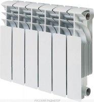 Радиатор алюминиевый Русский радиатор КОРВЕТ 350 × 100 мм, 4 секции купить в интернет-магазине Азбука Сантехники