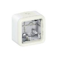 Legrand Plexo Белый Коробка монтажная 1-местная для накладного монтажа IP55 купить в интернет-магазине Азбука Сантехники