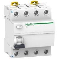 Schneider Electric Acti 9 iID K УЗО 4P 40A тип AС 30mA купить в интернет-магазине Азбука Сантехники