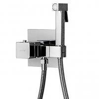 Гигиенический душ Gappo G7207-40 со смесителем, встраиваемый, хром купить в интернет-магазине Азбука Сантехники