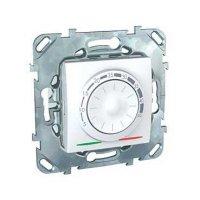 Schneider Electric Unica Белый Регулятор теплого пола с датчиком температуры купить в интернет-магазине Азбука Сантехники