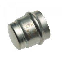 Заглушка пресс IBP Ø 28 мм нержавеющая сталь купить в интернет-магазине Азбука Сантехники