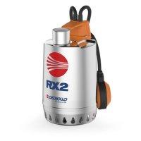 Насос дренажный Pedrollo RX 3 — 0,55 кВт (3x400 В, Qmax 220 л/мин, Hmax 11.5 м, кабель 5 м) купить в интернет-магазине Азбука Сантехники
