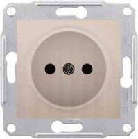 Schneider Electric Sedna Титан Розетка 1-я б/з купить в интернет-магазине Азбука Сантехники