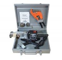 Аппарат для пайки полипропиленовых труб GM Cobra ECO Ø 16–63 мм, резак, насадка Ø 20–40 мм (1500 Вт) купить в интернет-магазине Азбука Сантехники