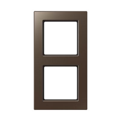 Jung A creation Мокко Рамка 2-постовая купить в интернет-магазине Азбука Сантехники