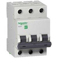 Schneider Electric Easy 9 Автомат 3P 6A (B) 4,5kA купить в интернет-магазине Азбука Сантехники