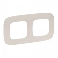 Legrand Valena Allure Слоновая кость Рамка 2 поста купить в интернет-магазине Азбука Сантехники