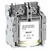 Schneider Electric Compact/VigiCompact NSX100-630 Расцепитель напряжения MN 220-240В AC 50/60Гц 208-277В AC 60Гц купить в интернет-магазине Азбука Сантехники