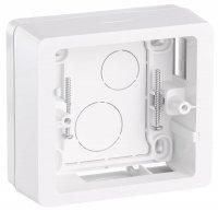 Legrand Celiane Белый Коробка для накладного монтажа 1-местная купить в интернет-магазине Азбука Сантехники