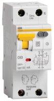 IEK АВДT32 Дифавтомат 1P+N 16A (C) 6kA тип A 30mA купить в интернет-магазине Азбука Сантехники
