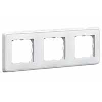Legrand Cariva Белый Рамка 3-ая купить в интернет-магазине Азбука Сантехники