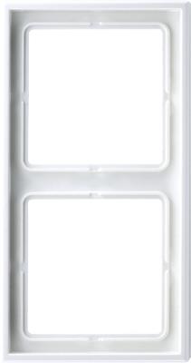 Jung LS 990 Белый Рамка 2-постовая купить в интернет-магазине Азбука Сантехники
