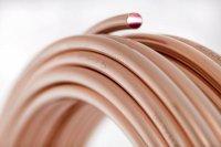 Труба медная отожженная KME SANCO Ø 8 × 1,0 мм (50 м) купить в интернет-магазине Азбука Сантехники