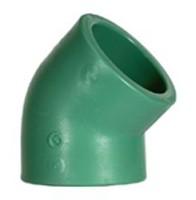 Уголок Baenninger 45° Ø 20 мм полипропиленовый купить в интернет-магазине Азбука Сантехники