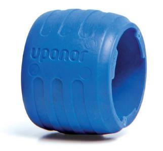 Кольцо с упором к фитингам Uponor Q&E Evolution Ø 25 мм (синее) купить в интернет-магазине Азбука Сантехники