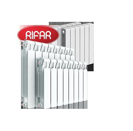 Скидка 7% на радиаторы Rifar