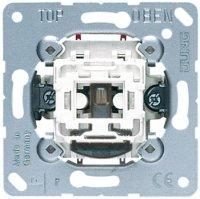 Jung Механизм Выключатель 10AX 250V контрольный двухполюсный купить в интернет-магазине Азбука Сантехники