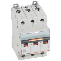 Legrand DX3 Автомат 3P 16A (B) 25kA купить в интернет-магазине Азбука Сантехники
