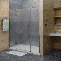 Душевая дверь RGW Hotel HO-03, 1300 × 1950 мм, с прозрачным стеклом, профиль — хром купить в интернет-магазине Азбука Сантехники