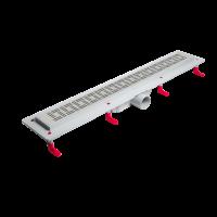 Душевой лоток MIANO MADRID 600 мм, боковой слив D50, глянцевая решетка купить в интернет-магазине Азбука Сантехники