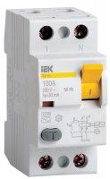 IEK ВД1-63 УЗО 2P 63A тип AC 300mA купить в интернет-магазине Азбука Сантехники