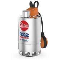 Насос дренажный Pedrollo RX 2/20 — 0,37 кВт (3x400 В, Qmax 180 л/мин, Hmax 6,5 м, кабель 5 м) купить в интернет-магазине Азбука Сантехники