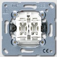 Jung Механизм Переключатель 1-клавишный 10A (EP406U) купить в интернет-магазине Азбука Сантехники