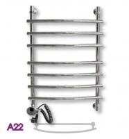 Полотенцесушитель электрический ЭРАТО А22 1000 × 600 купить в интернет-магазине Азбука Сантехники