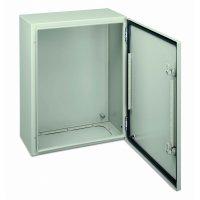 Schneider Electric Spacial CRN Шкаф настенный с глухой дверцей с монтажной платой 400х400х200мм, IP66 купить в интернет-магазине Азбука Сантехники