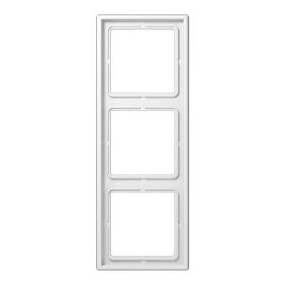 Jung LS 990 Белый Рамка 3-постовая купить в интернет-магазине Азбука Сантехники