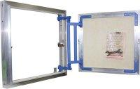 Люк под плитку настенный алюминиевый Люкер AL-KR 40 × 40 см (В × Ш) купить в интернет-магазине Азбука Сантехники