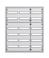 ABB AT Шкаф навесной с дверцей, 974х824х140, DIN125мм-6рядов/216мод, IP43 / 71751