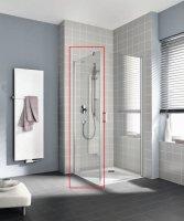 Боковая стенка правая для комбинации с левой дверью Kermi CADA XS CK TWR 10020 VPK (985-1010) × 2000 мм купить в интернет-магазине Азбука Сантехники