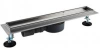 Трап душевой Gappo G87007-4 из нержавеющей стали 70 × 700 мм купить в интернет-магазине Азбука Сантехники